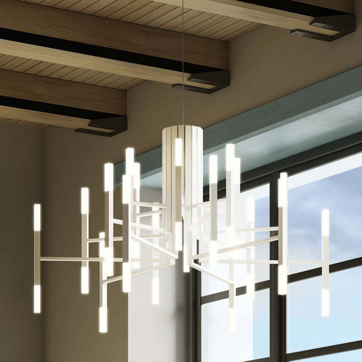 TheLight 18 Light Chandelier by Alma Light