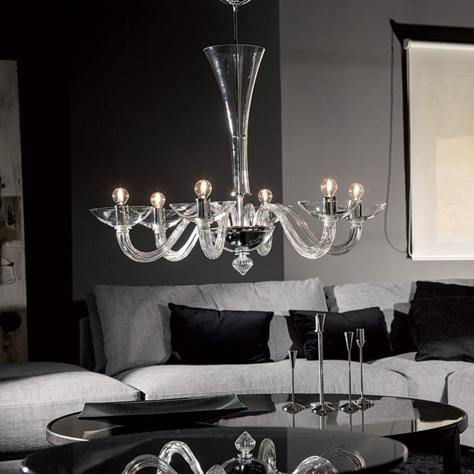 Buy online latest and high quality Gaulo Chandelier from Mazzega 1946 | Modern Lighting + Decor