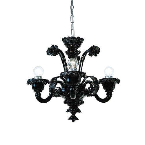 Pellestrina - PELSOV04 Chandelier from Mazzega 1946 | Modern Lighting + Decor