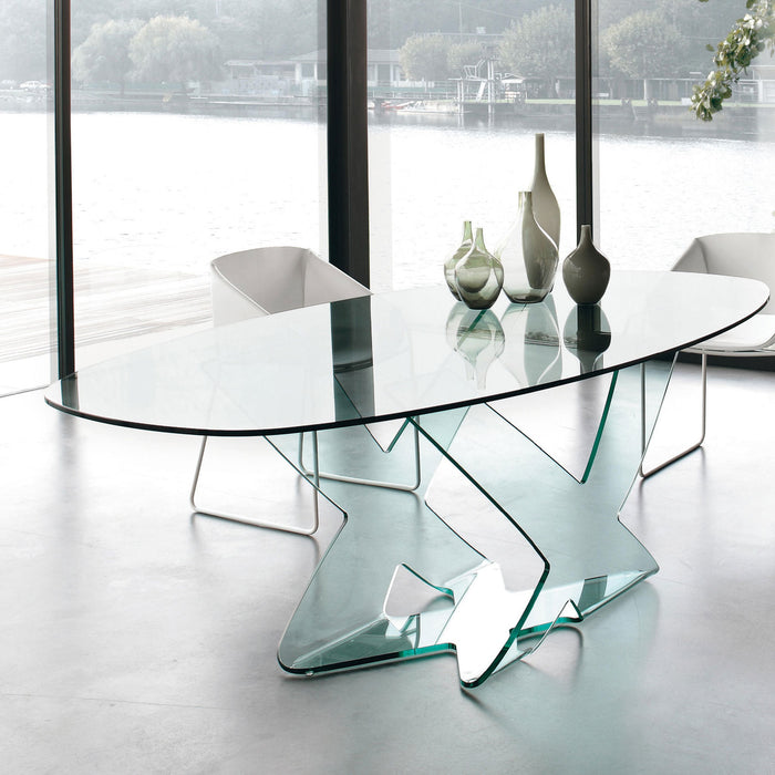 Ghost Oval Table from Tonin Casa | Modern Lighting + Decor