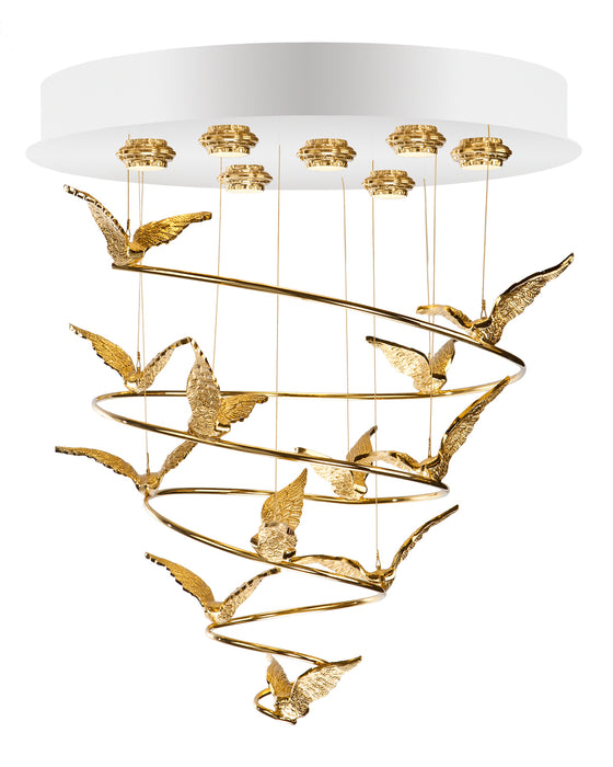 Glamour Chandelier - GMR-0118/7 from Creaciones Cordon | Modern Lighting + Decor