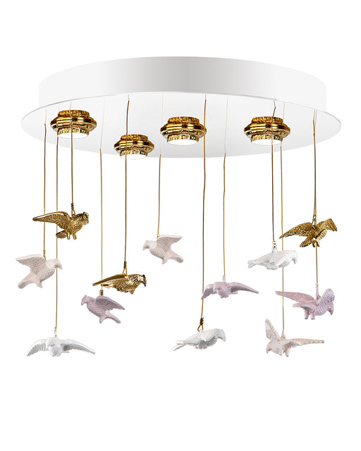 Glamour Chandelier - GMR-0119/4 from Creaciones Cordon | Modern Lighting + Decor