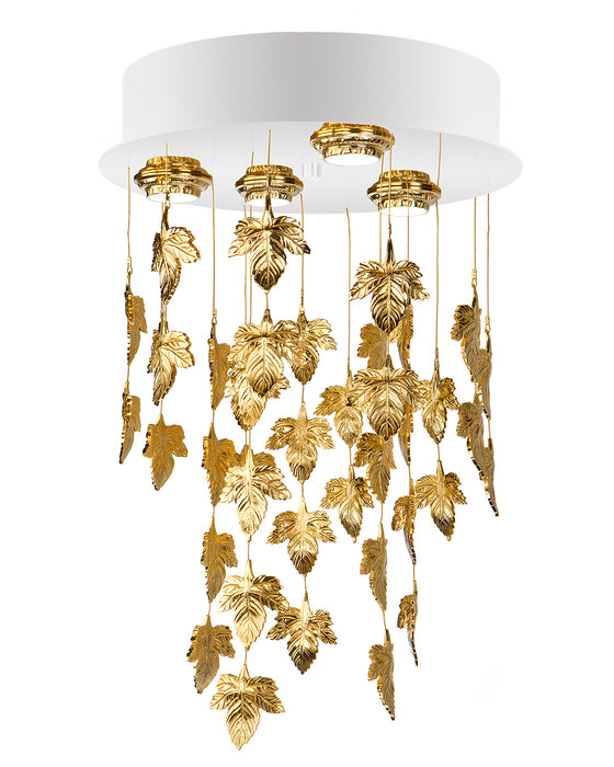 Glamour Chandelier - GMR-0121/4 from Creaciones Cordon | Modern Lighting + Decor
