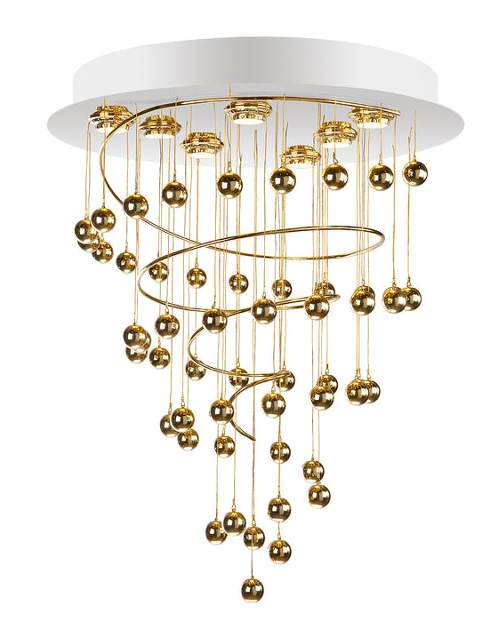 Buy online latest and high quality Glamour Chandelier - GMR-0122/7 from Creaciones Cordon | Modern Lighting + Decor
