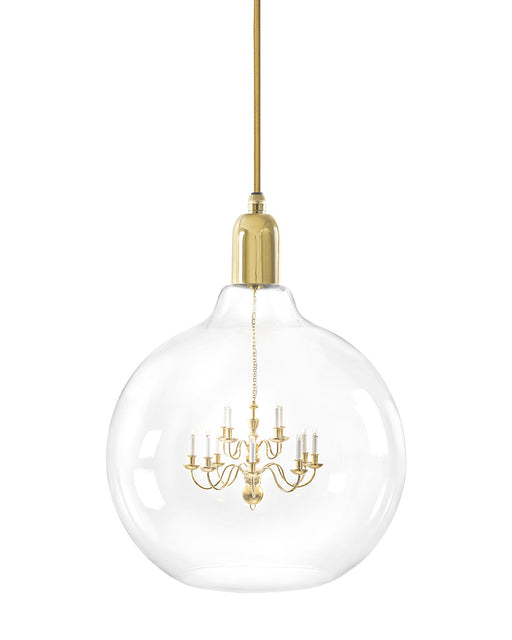 Buy online latest and high quality Gold King Edison Grande Pendant Light from Mineheart | Modern Lighting + Decor