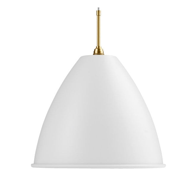BL9 XL Pendant Light/Brass from Gubi | Modern Lighting + Decor
