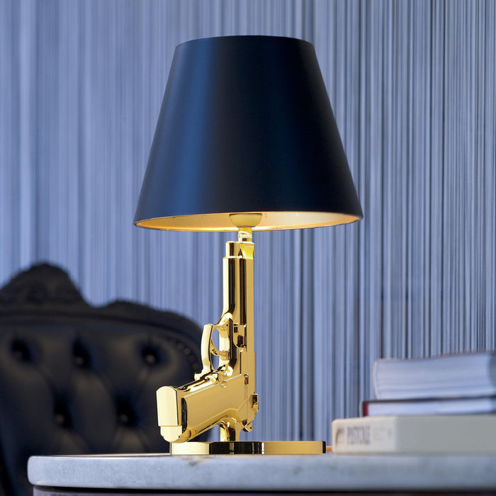 Guns Bedside Table Lamp from Flos | Modern Lighting + Decor