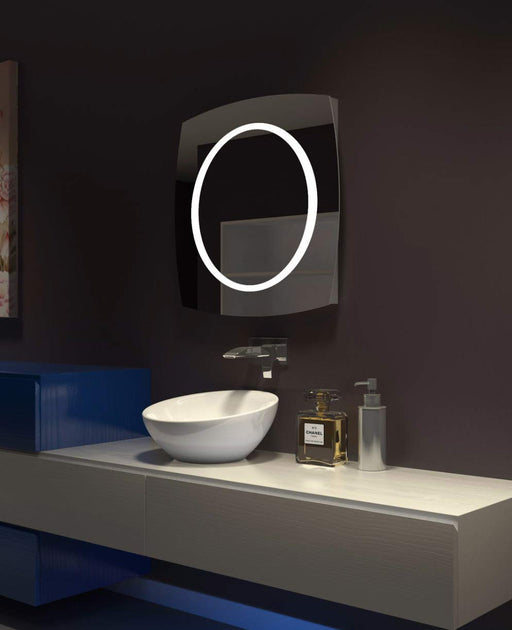 Buy online latest and high quality Lighted Mirror Halo 28 X 28 In from Paris Mirror | Modern Lighting + Decor