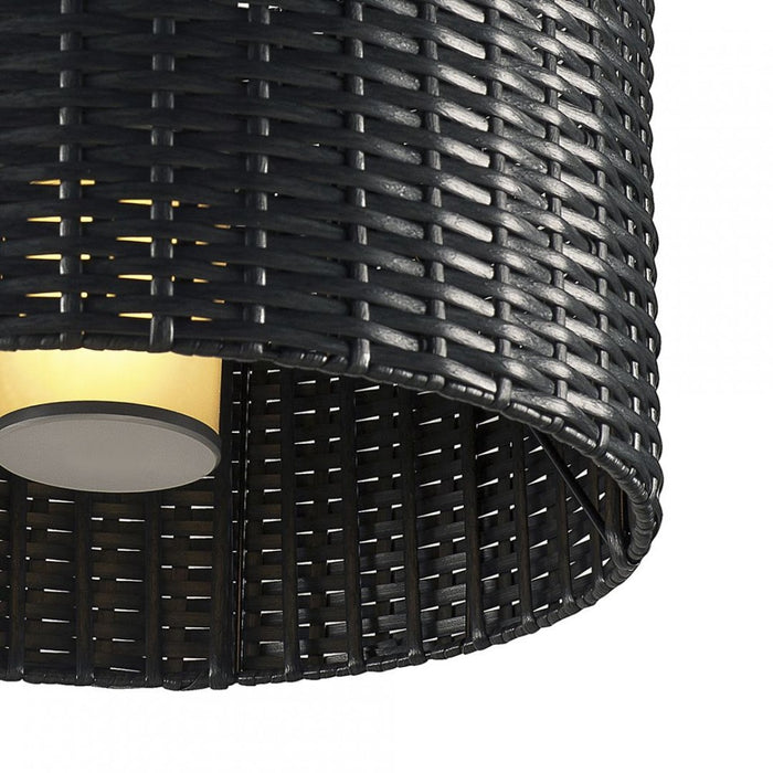 ADEGAN MANILA anthracite, 1-light source Hanging lamp from SLV Lighting | Modern Lighting + Decor