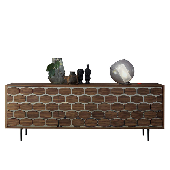 Honey Sideboard Two Doors Two Drawers from Tonin Casa | Modern Lighting + Decor