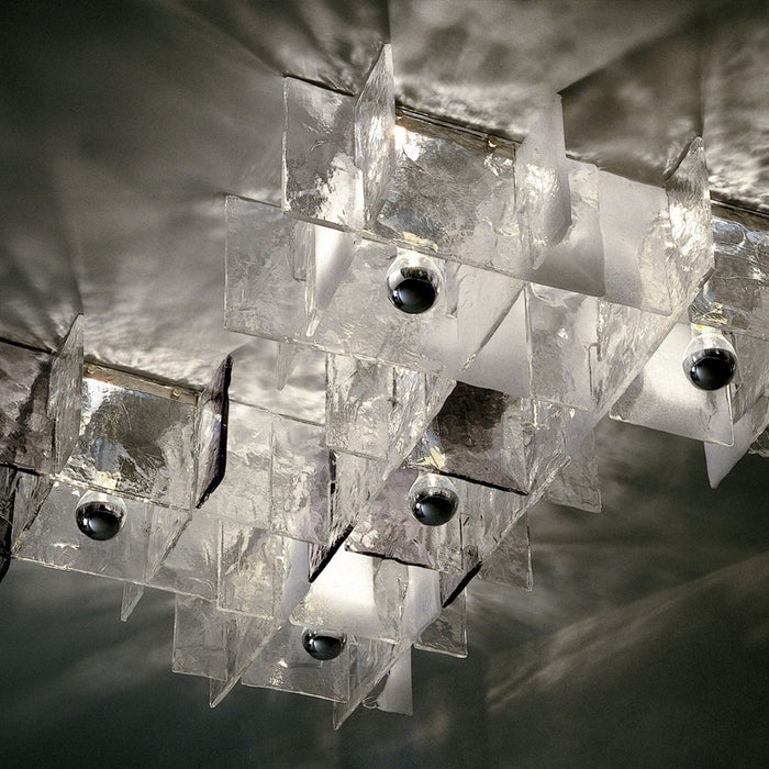Buy online latest and high quality Ice Ceiling Light from Mazzega 1946 | Modern Lighting + Decor