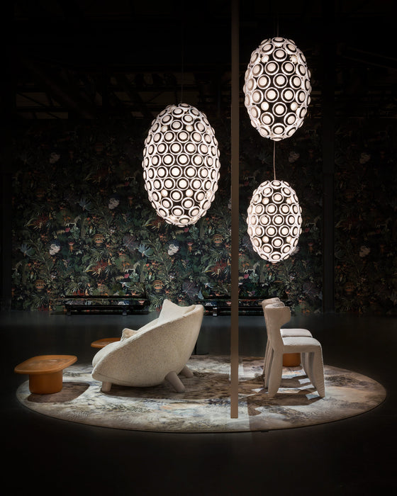 Buy online latest and high quality Iconic Eyes Suspension from Moooi | Modern Lighting + Decor