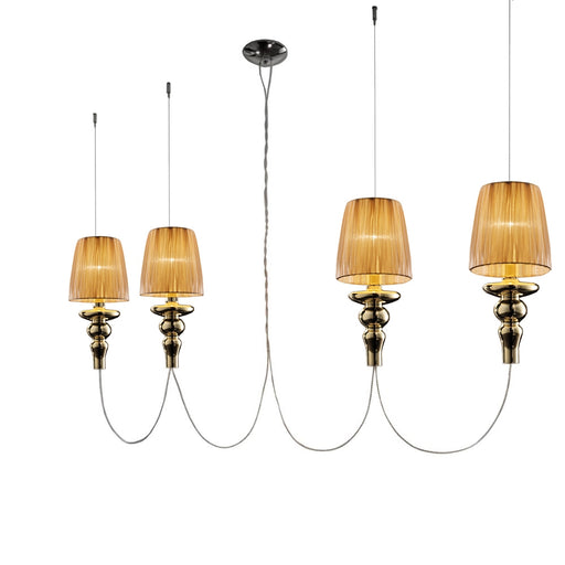 Gadora Chic S4L Suspension Lamp from EviStyle | Modern Lighting + Decor