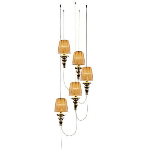 Gadora Chic TE S5 Suspension Lamp from EviStyle | Modern Lighting + Decor