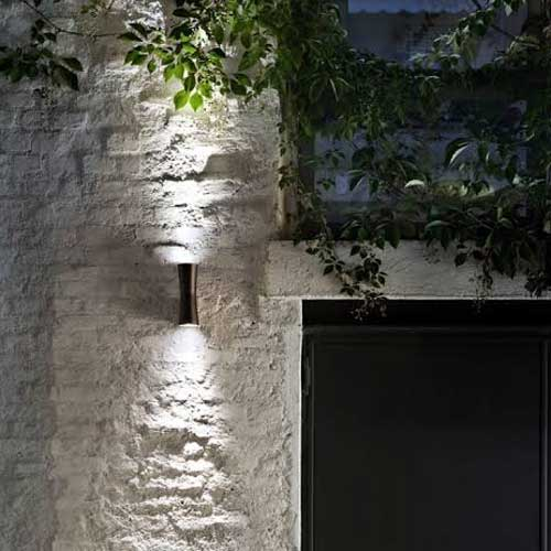 Clessidra Outdoor Wall Light from Flos | Modern Lighting + Decor