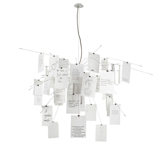 Buy online latest and high quality Zettel'z 5 Chandelier from Ingo Maurer | Modern Lighting + Decor