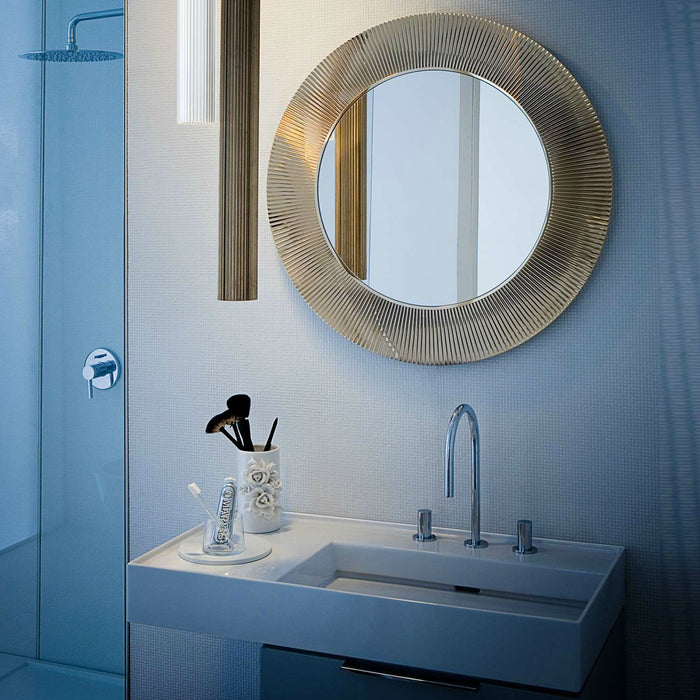 Buy online latest and high quality Metallic All Saints Mirror from Kartell | Modern Lighting + Decor