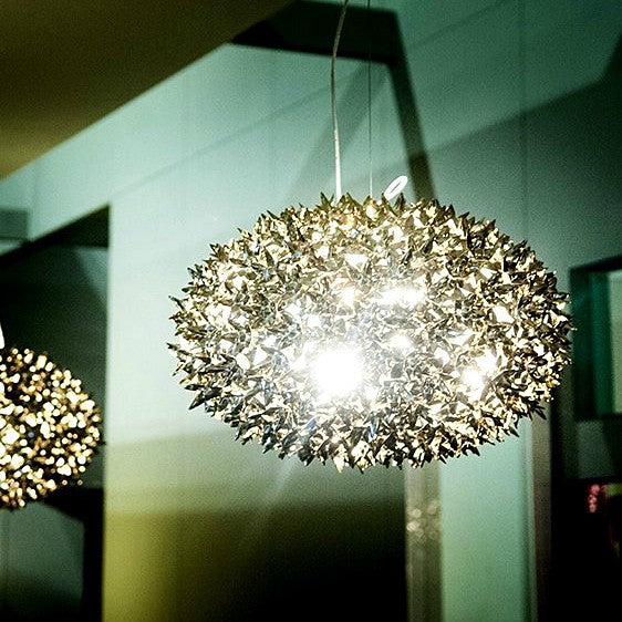 Bloom Metallic Pendant Light from Kartell | Modern Lighting + Decor