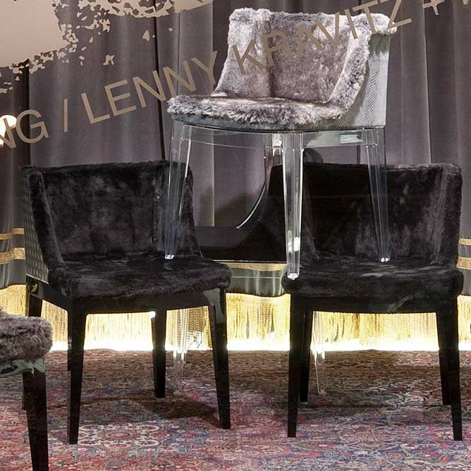 Buy online latest and high quality Mademoiselle Kravitz Chair from Kartell | Modern Lighting + Decor