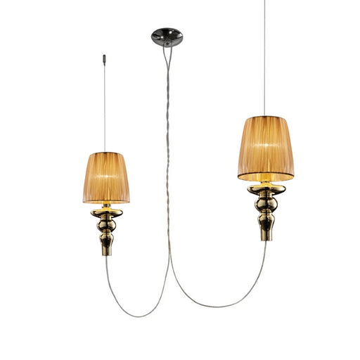 Gadora Chic S2L Suspension Lamp from EviStyle | Modern Lighting + Decor