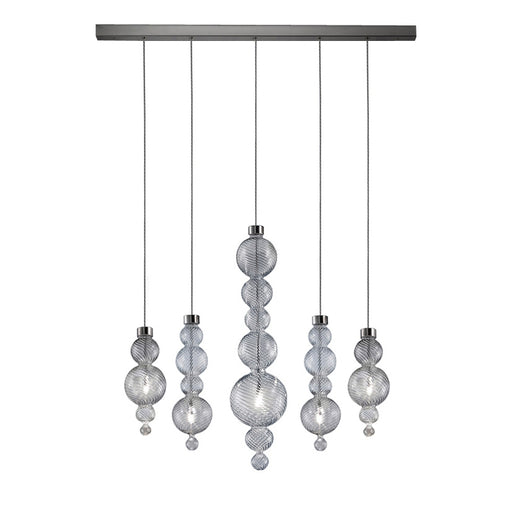 San Marco SO5 B Linear Suspension Light from EviStyle | Modern Lighting + Decor