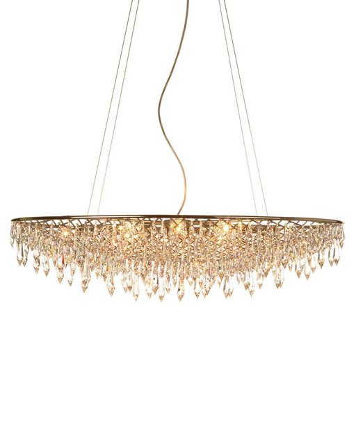Rain Round Chandelier from Anthologie Quartett | Modern Lighting + Decor