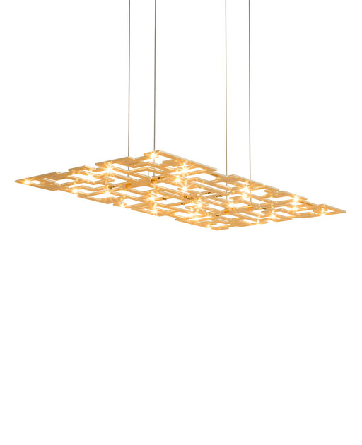 Alumega Panel Pendant Light from Anthologie Quartett | Modern Lighting + Decor