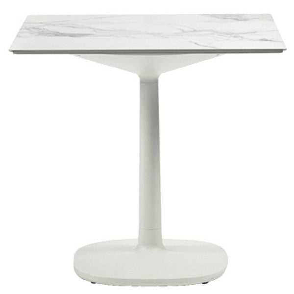 Multiplo Large Square Base Outdoor Table-Square Top from Kartell | Modern Lighting + Decor