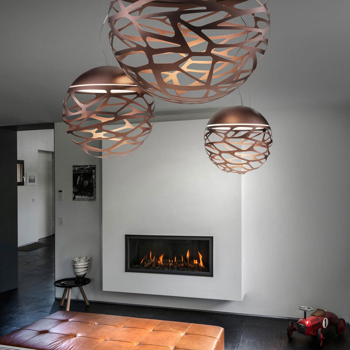 Kelly Medium Sphere 50 Pendant Light from Studio Italia Design | Modern Lighting + Decor