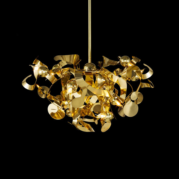 Kelp 100 Round Pendant Light from Brand Van Egmond | Modern Lighting + Decor
