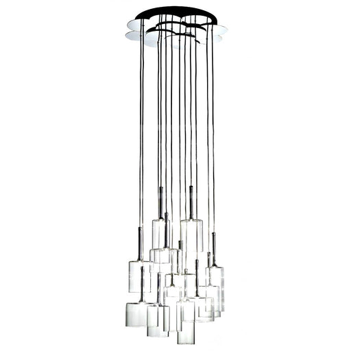 Spillray 12 Suspension Light - LED from Axo | Modern Lighting + Decor
