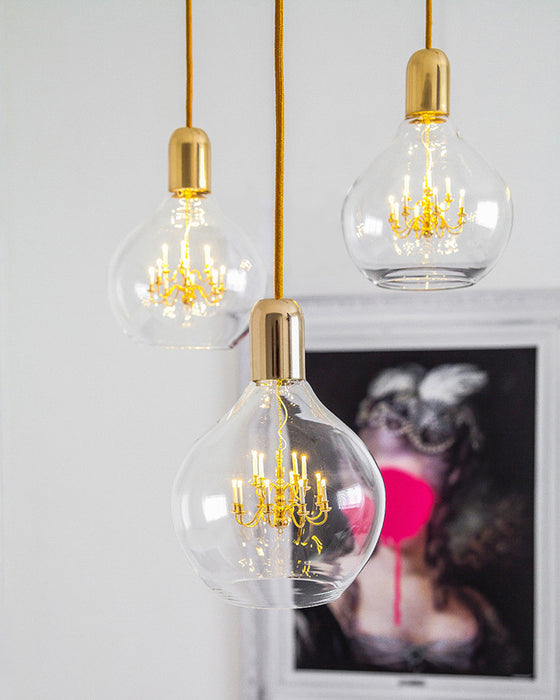 Buy online latest and high quality Gold King Edison Pendant Light from Mineheart | Modern Lighting + Decor
