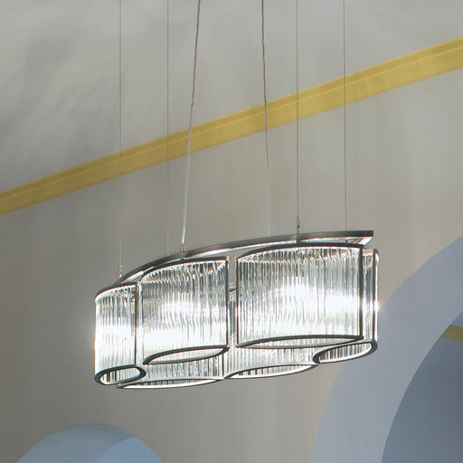 Buy online latest and high quality Stilio Oval 6 Chandelier from Licht im Raum | Modern Lighting + Decor