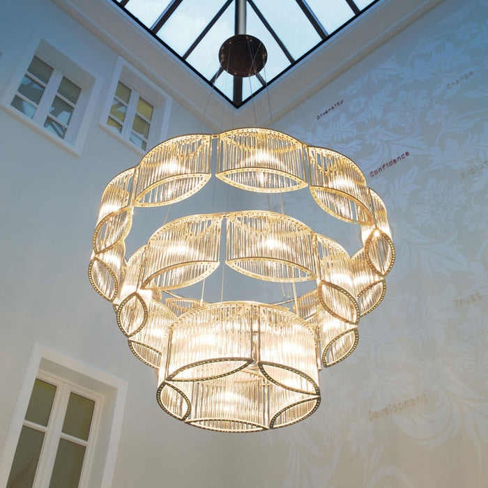 Buy online latest and high quality Stilio 11/8/5 Chandelier from Licht im Raum | Modern Lighting + Decor