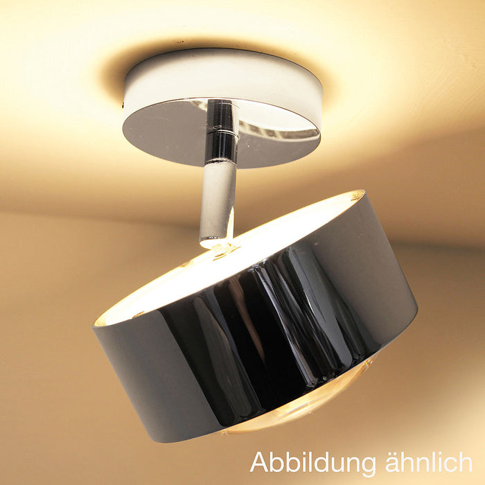 Puk Maxx Turn Up And Downlight LED Ceiling Light from Top Light | Modern Lighting + Decor