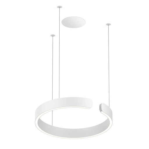 Buy online latest and high quality Mito Sospeso 40 Flat Pendant Light from Occhio | Modern Lighting + Decor