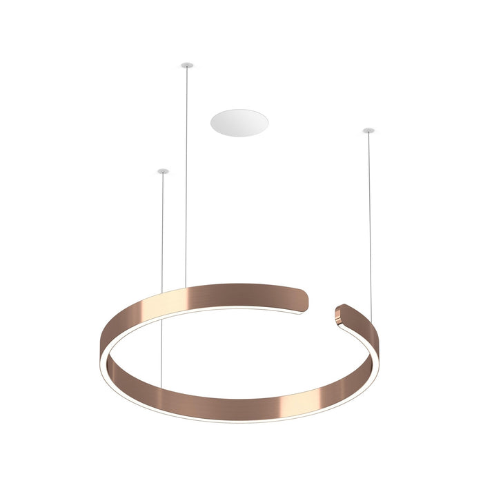 Buy online latest and high quality Mito Sospeso 60 Flat Pendant Light from Occhio | Modern Lighting + Decor