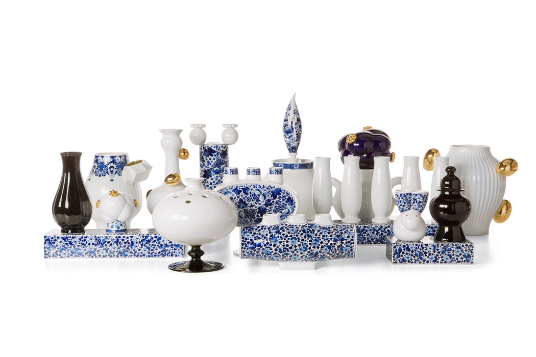 Delft Blue No 5 Vase | Modern Lighting + Decor
