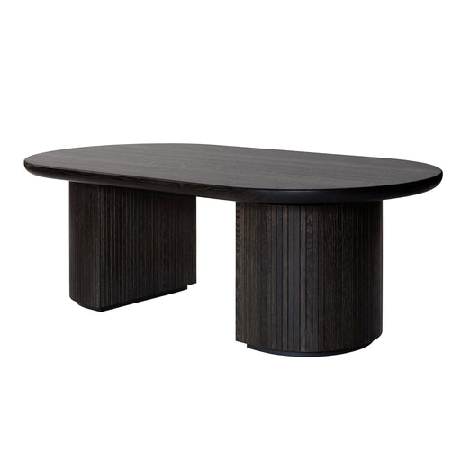 Buy online latest and high quality Moon Elliptical 258X101 Dining Table from Gubi | Modern Lighting + Decor