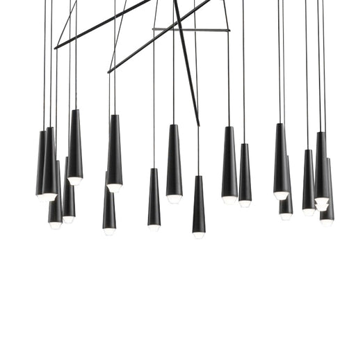 Mikado LA18 Chandelier from Morosini | Modern Lighting + Decor