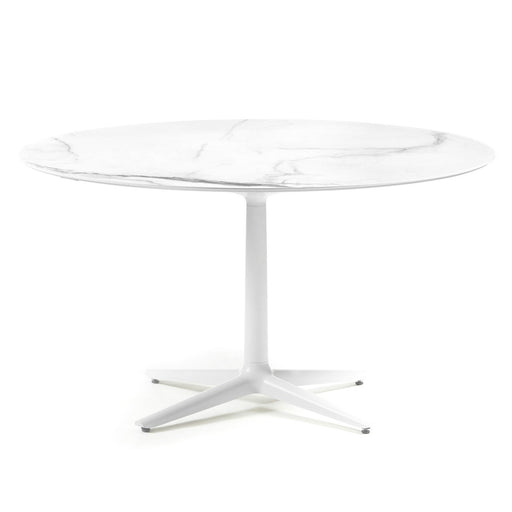 Buy online latest and high quality Multiplo Base with 4 Spokes Outdoor Table-Round Top from Kartell | Modern Lighting + Decor