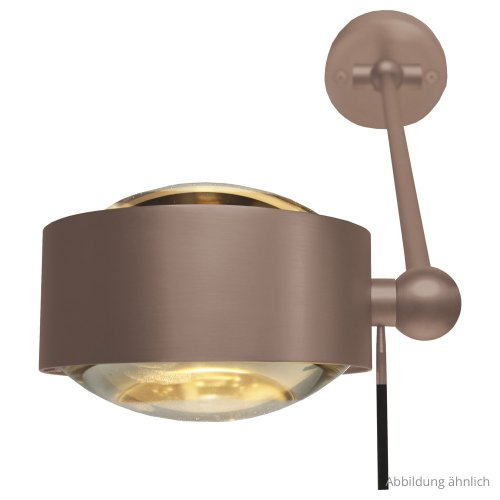 Puk Maxx Wing Single LED Wall/Ceiling Light 20 cm from Top Light | Modern Lighting + Decor