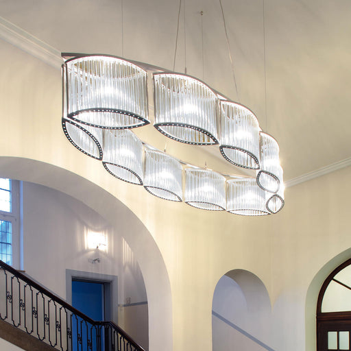 Buy online latest and high quality Stilio Oval 10 Chandelier from Licht im Raum | Modern Lighting + Decor