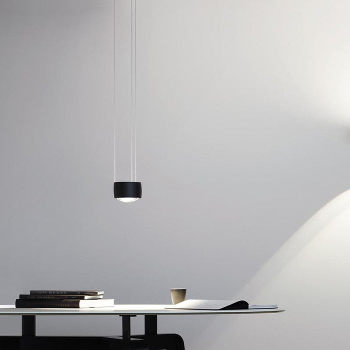 Buy online latest and high quality Sento Sospeso Flat Pendant Light from Occhio | Modern Lighting + Decor