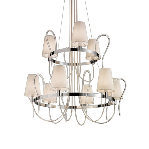 Rondo LA6+3 Chandelier from EviStyle | Modern Lighting + Decor