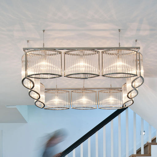 Stilio Square Chandelier from Licht im Raum | Modern Lighting + Decor