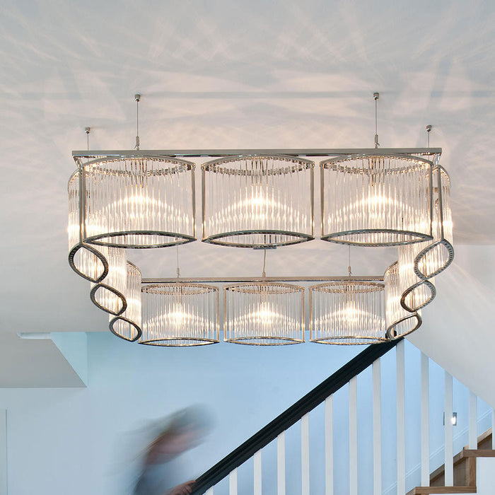 Buy online latest and high quality Stilio Square Chandelier from Licht im Raum | Modern Lighting + Decor