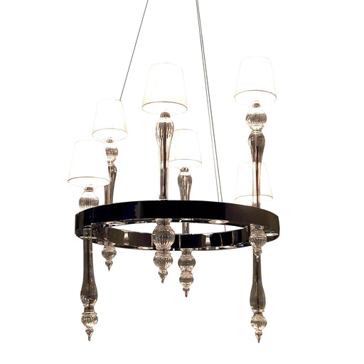 Fosfato FOSSOVVC06 Chandelier from Mazzega 1946 | Modern Lighting + Decor