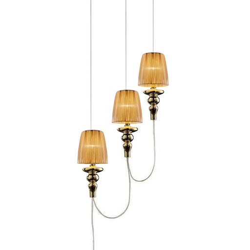 Gadora Chic TE S3 Suspension Lamp from EviStyle | Modern Lighting + Decor