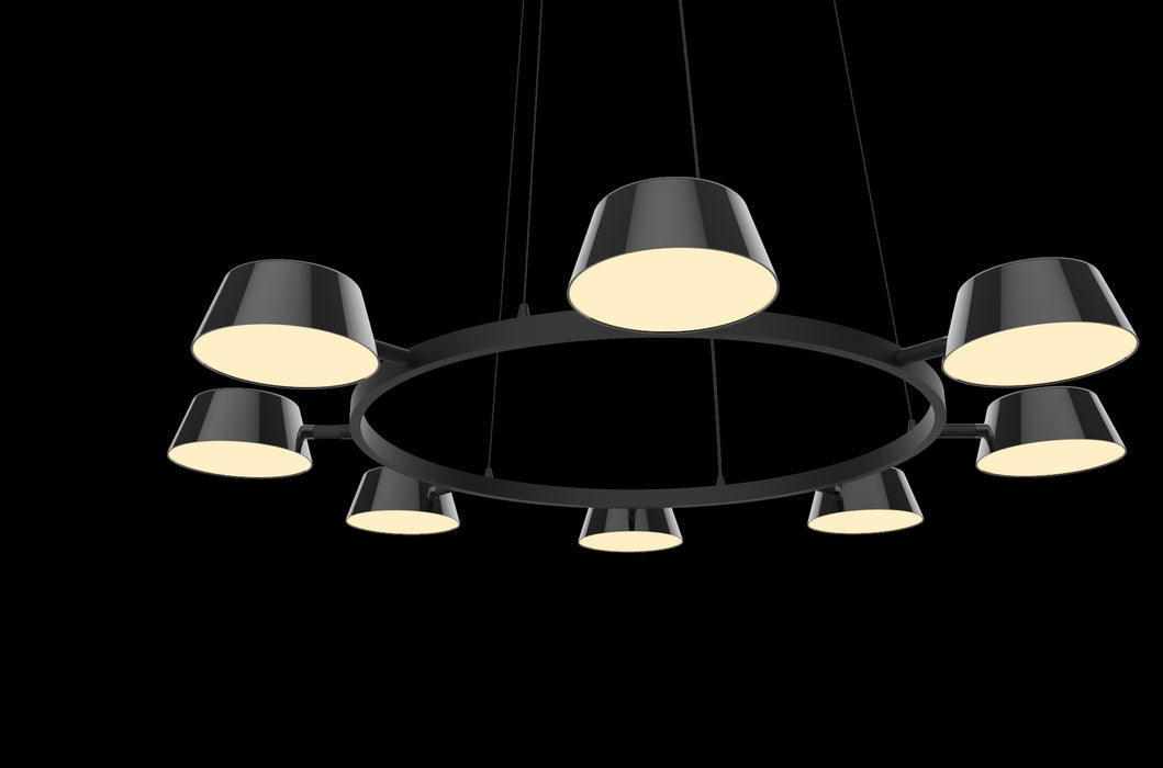 Buy online latest and high quality Olo 8 Light Round Suspension from Seed Design | Modern Lighting + Decor